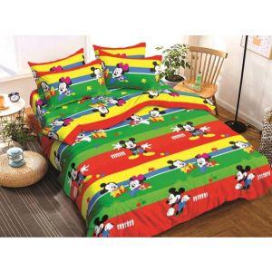 AB Décor Cotton Double Bed Sheet Set SHOP-ABD-BSP-23