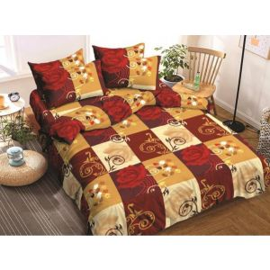 AB Décor Cotton Double Bed Sheet Set SHOP-ABD-BSP-25