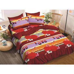 AB Décor Cotton Double Bed Sheet Set SHOP-ABD-BSP-34