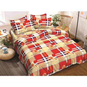 AB Décor Cotton Double Bed Sheet Set SHOP-ABD-BSP-37