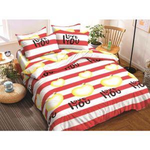 AB Décor Cotton Double Bed Sheet Set SHOP-ABD-BSP-38