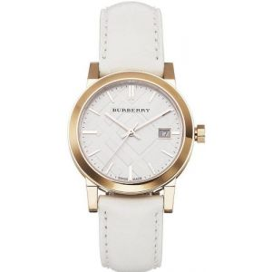 Burberry Rose Gold-Tone Leather Ladies Watch BU9108
