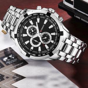 Curren Sports Wrist Watch Stainless Steel