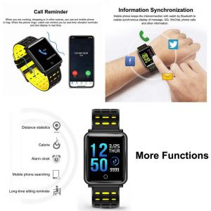 MX7 Fitness Tracker Bluetooth Multi-Colour