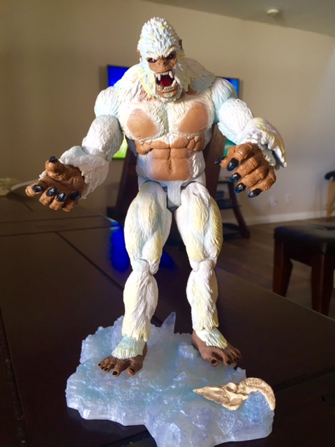 My Yeti from the guys at Creature Replica!