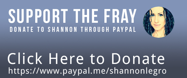 Support Shannon at Into The Fray Radio