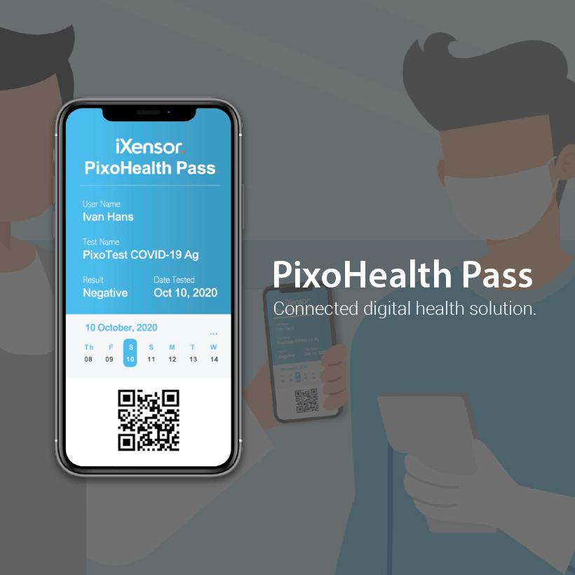 iXensor PixoHealth Pass