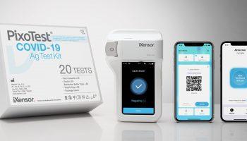 iXensor launches CE marked PixoTest COVID-19 Antigen Test