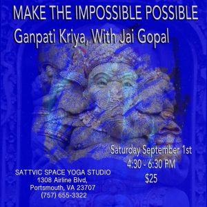 Ganpati Gunpati Kriya - Ganesha making impossible possible