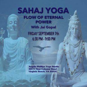 sahaj yoga kriya flow of eternal power