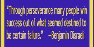 how to win through perseverence