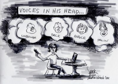 Voices in His Head