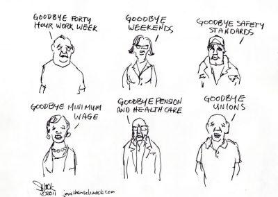 Goodbye Unions
