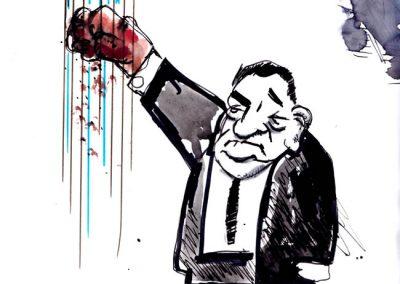 Mubarak's Iron Fist