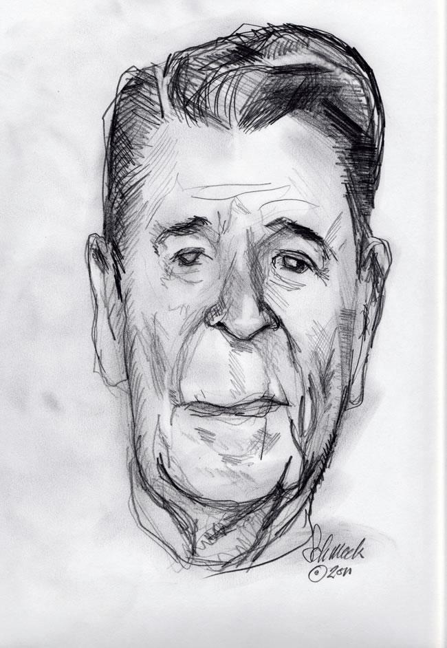 Reagan Portrait