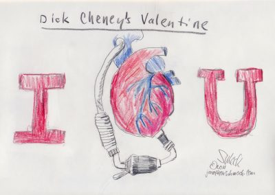 Dick Cheney's Valentine