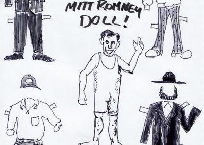 Mitt Romney Doll