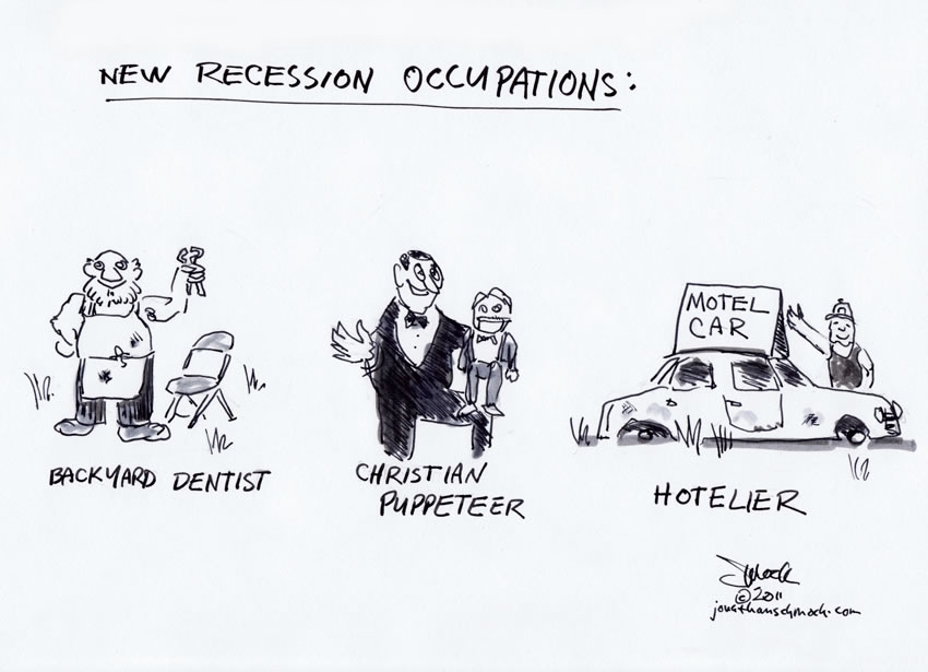 Recession Occupations
