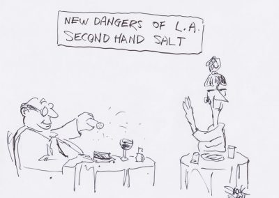 Dangers of L.A. - second hand salt