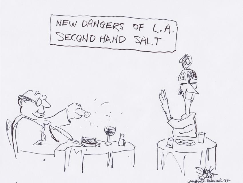 Dangers of L.A. - second hand salt