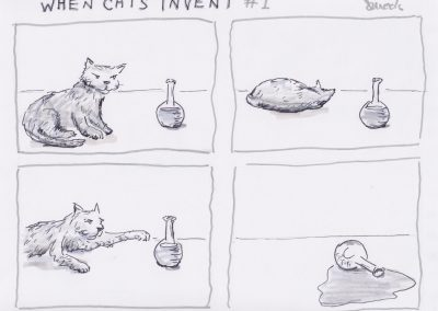 Cats Invent