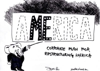 Corporate Restructuring of America