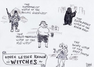 Lesser Known Witches