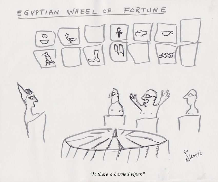Egyptian Wheen of Fortune
