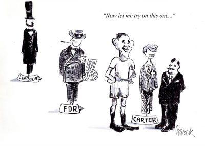 Obama's Carter Costume