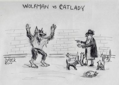 Wolfman vs. Catlady