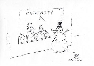 Snowman Maternity
