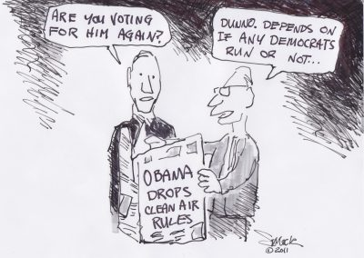 Voting For Obama