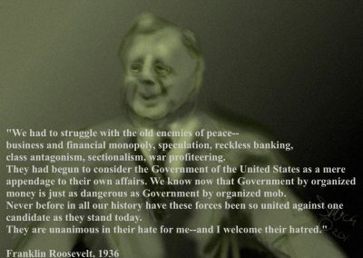 Roosevelt Explains It All