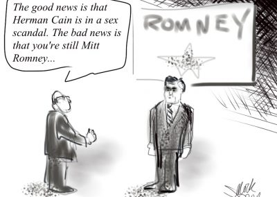 Mitt Romney: Good news, bad news