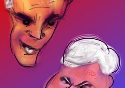 Mitt vs Newt