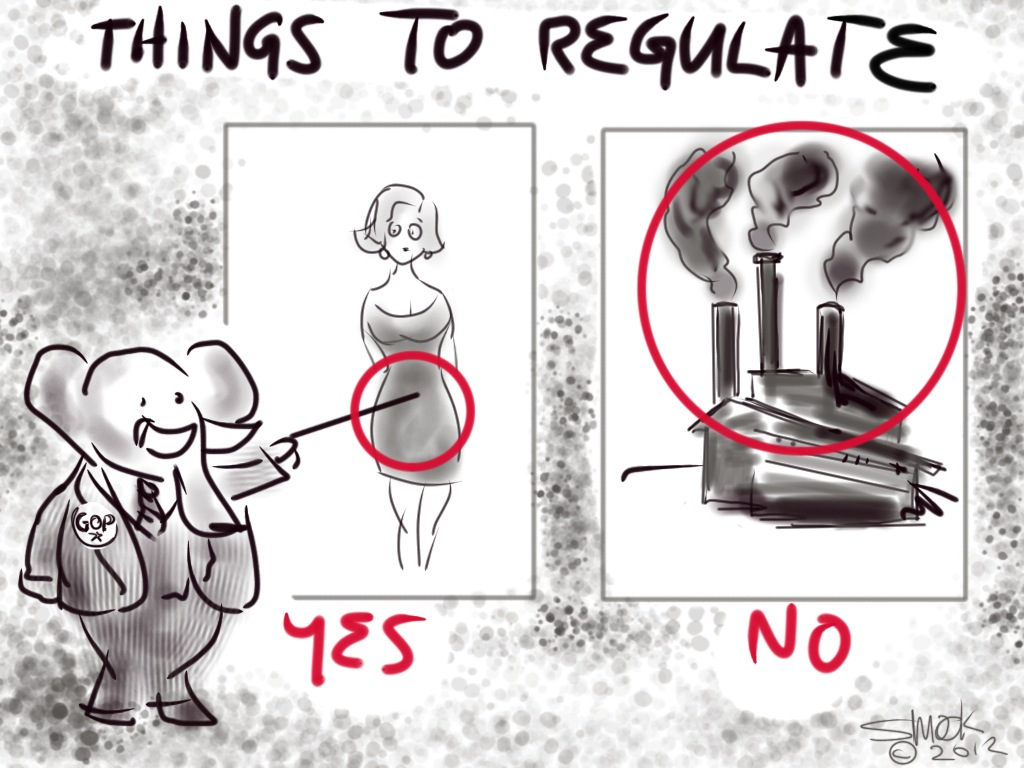GOP Things To Regulate