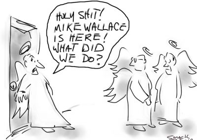 Mike Wallace in Heaven