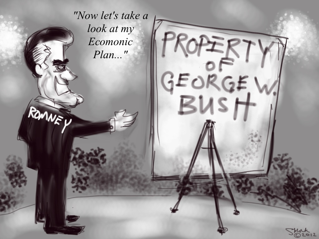The Romney/Bush plan