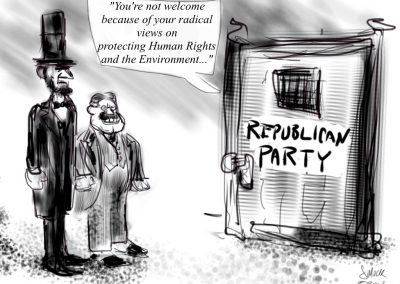 Lincoln & Roosevelt at the Modern GOP