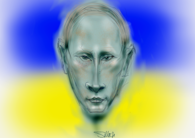 Putin Over the Ukraine 1
