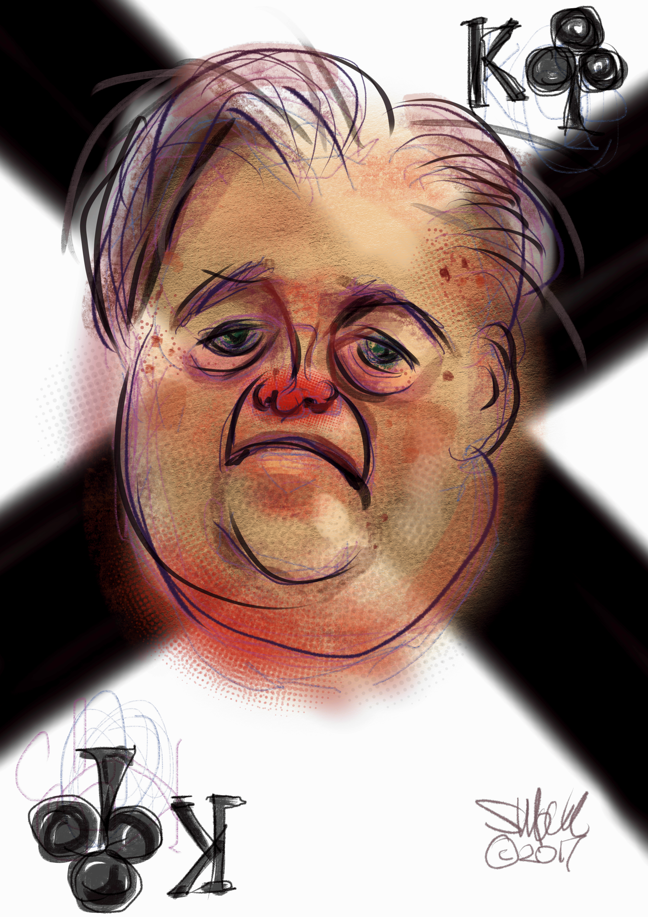 Steve Bannon - The King of Clubs