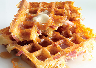 Brunch waffles