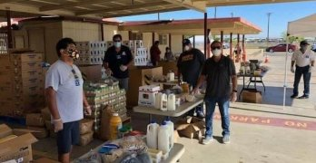 I.V. Catholic Emergency Food Distribution