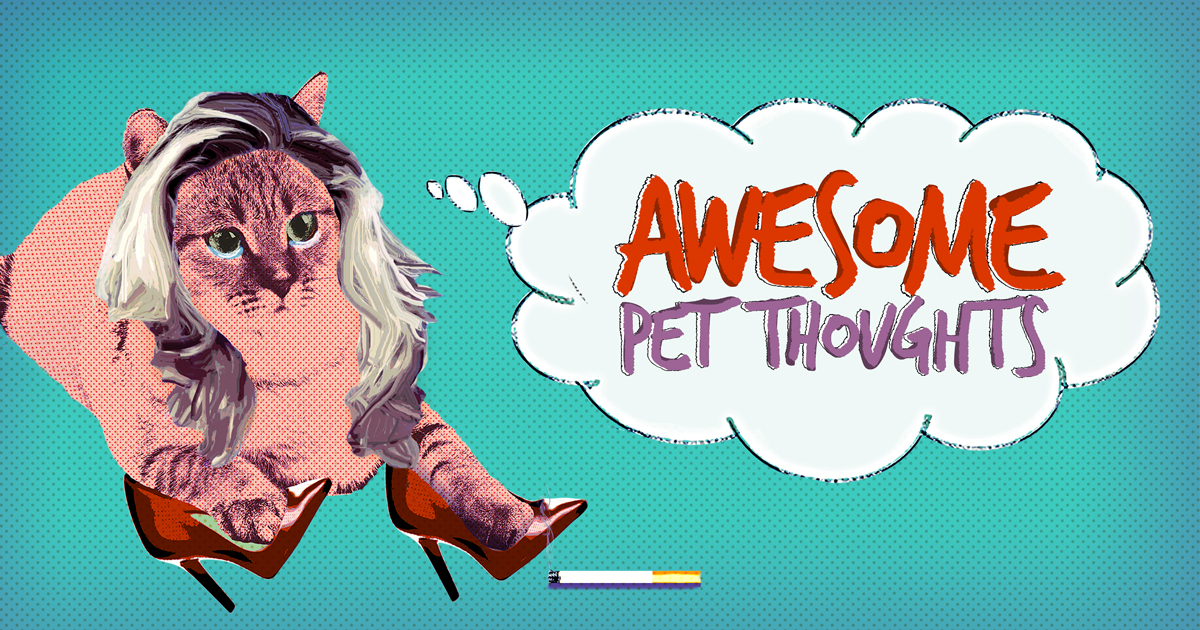 Watchable Orders Orders Original Series 'Awesome Pet Thoughts' From Jukin Media