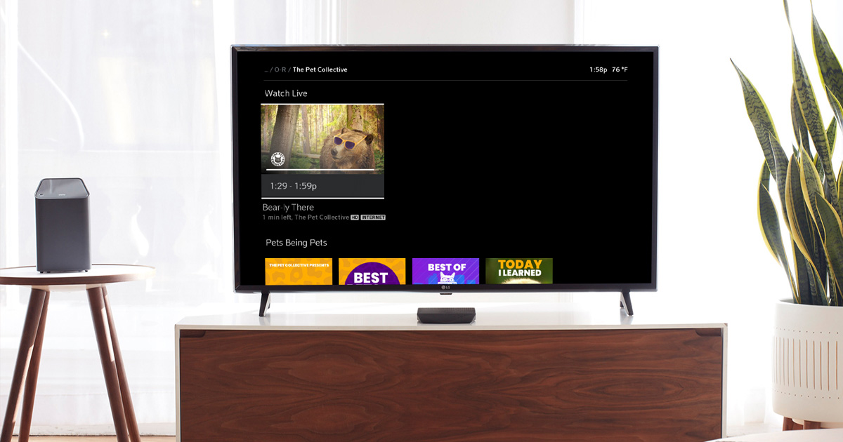 FAILARMY AND THE PET COLLECTIVE LAUNCH LIVE PROGRAMMING  ON COMCAST'S XFINITY X1