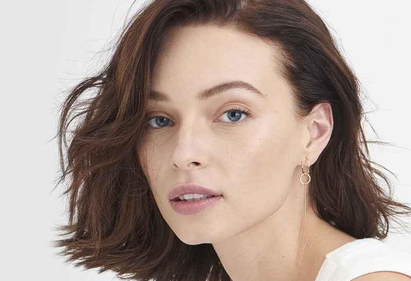 Ania Haie Modern Minimalism Modern Solid Drop s - Shiny Gold Earring