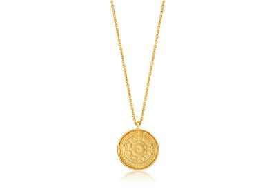 Ania Haie Verginia Sun Necklace - Shiny Gold