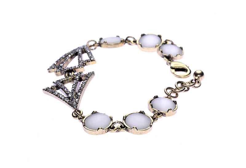 Avery and May Gatsby Deco Love Bracelet