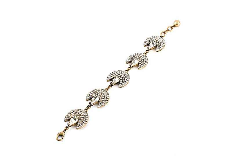 Avery and May Statement Collection Starlight Fan Bracelet
