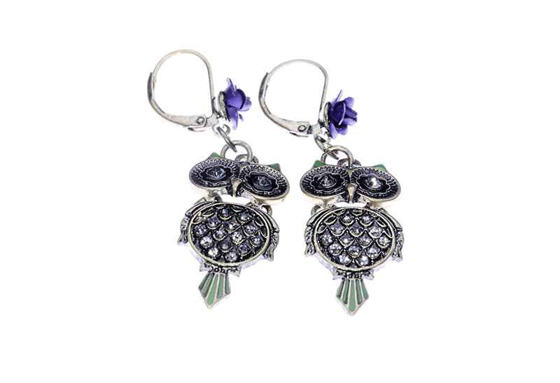 Avery and May Spiritual Warrior Collection Owling Wisdom s Earring